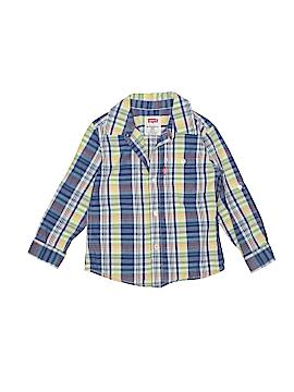Levi's Long Sleeve Button-Down Shirt Size 24 mo