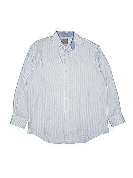 Thomas Dean Short Sleeve Button-Down Shirt Size 10 - 12