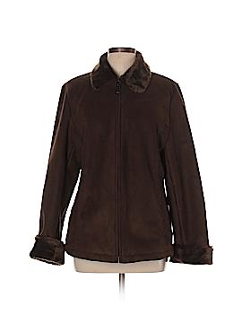 Braetan Faux Leather Jacket Size L