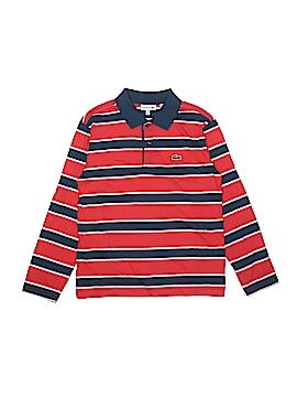 Lacoste Long Sleeve Polo Size 10