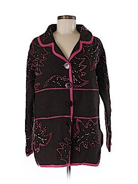 Susan Bristol Wool Cardigan Size M