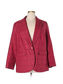 Jessica London Wool Blazer Size 16