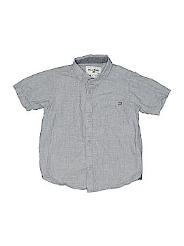 Billabong Short Sleeve Button-Down Shirt Size 6