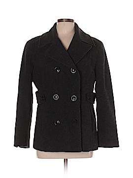 St. John's Bay Wool Coat Size L (Petite)