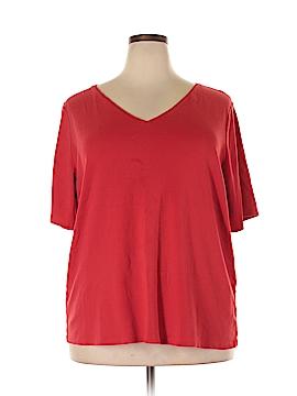 Lane Bryant Short Sleeve T-Shirt Size 26 Plus/28 Plus (Plus)