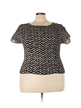 Judith Hart Short Sleeve Blouse Size 2X (Plus)