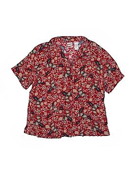 Emma James Short Sleeve Button-Down Shirt Size 16W