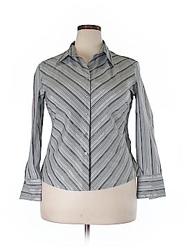 DCC Long Sleeve Button-Down Shirt Size XL