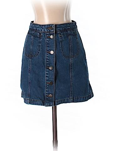 Topshop Denim Skirt 25 Waist