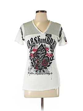 Crash & Burn Short Sleeve T-Shirt Size L