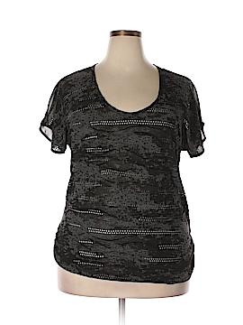 Vanity Short Sleeve Blouse Size XL