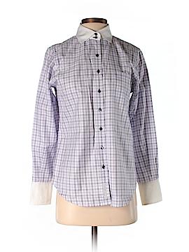 Audrey Talbott Long Sleeve Button-Down Shirt Size 4