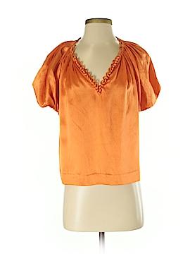 3.1 Phillip Lim Short Sleeve Silk Top Size 2