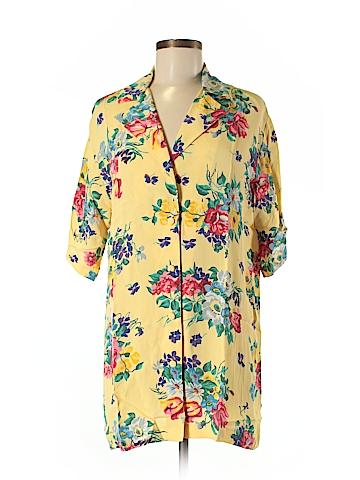 Betsey Johnson Short Sleeve Blouse Size M