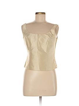 Linda Allard Ellen Tracy Sleeveless Silk Top Size 8 (Petite)