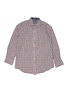 Thomas Dean Long Sleeve Button-Down Shirt Size M (Kids)