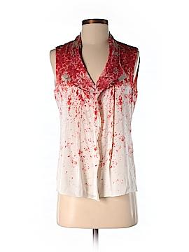 Elie Tahari for Nordstrom Sleeveless Silk Top Size S