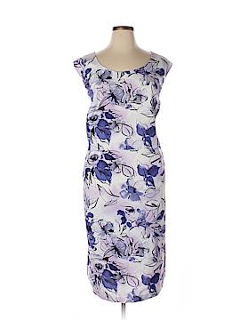 Allison Woods Casual Dress Size 2 (Plus)