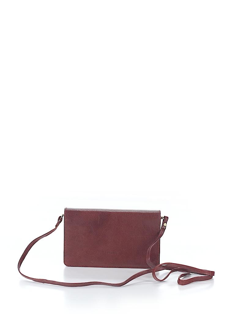 e15db52f9aca I Santi Solid Brown Crossbody Bag One Size - 95% off