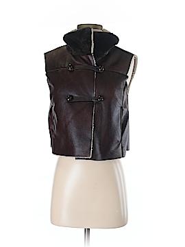 JLo by Jennifer Lopez Faux Fur Vest Size S