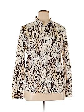 Chaus Long Sleeve Button-Down Shirt Size XL