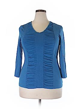 Reba 3/4 Sleeve Top Size XL