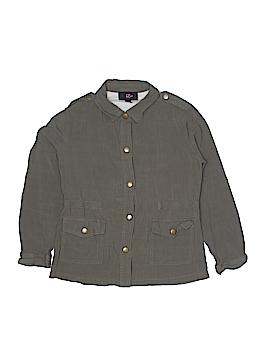 Iz Byer Long Sleeve Button-Down Shirt Size 14