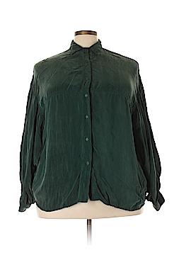 Tianello Long Sleeve Blouse Size 1X (Plus)