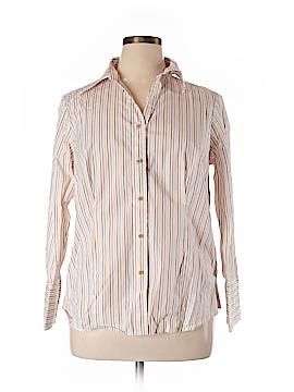 Talbots Long Sleeve Button-Down Shirt Size 0X (Plus)