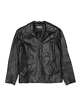 Clio Leather Jacket Size S