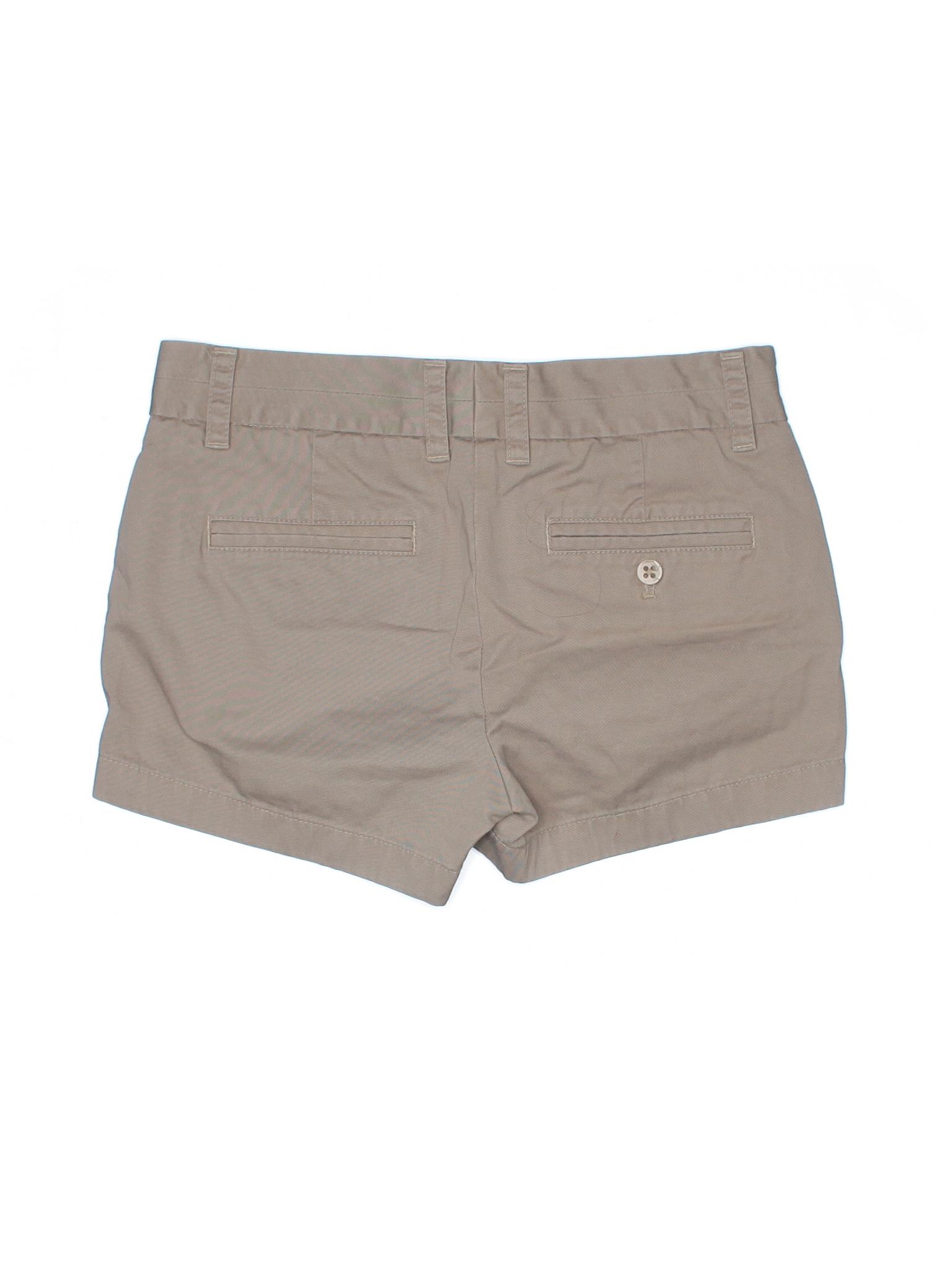 Crew J Boutique Khaki Shorts winter SqwRwPTZ