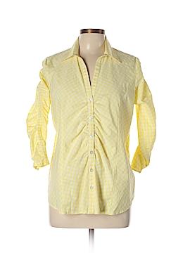 Jessica London 3/4 Sleeve Button-Down Shirt Size 12