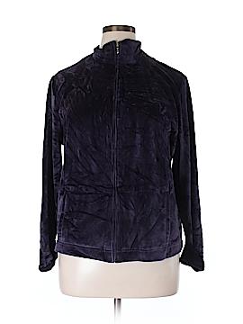 Charter Club Track Jacket Size 1X (Plus)