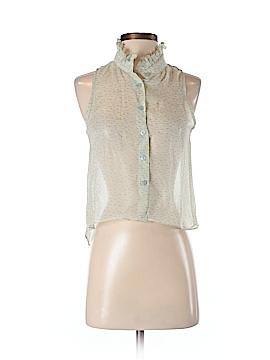 Ellelauri Sleeveless Silk Top Size S