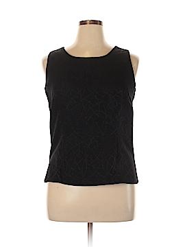 Mary McFadden Sleeveless Blouse Size 14