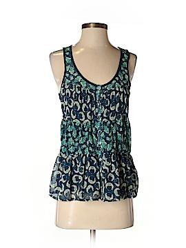 LC Lauren Conrad Sleeveless Button-Down Shirt Size XS