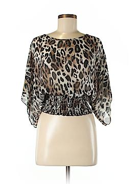 Vivace Design U.S.A. Short Sleeve Blouse Size M