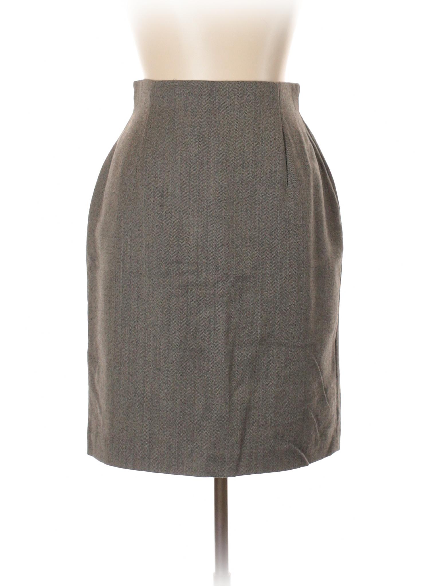 Wool Skirt Boutique Halston Boutique Halston OqFwZZ