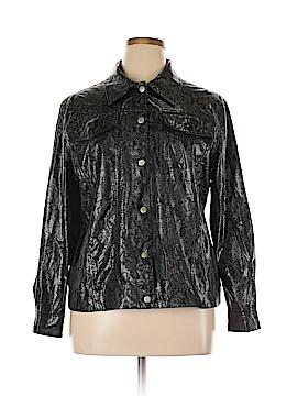 Fashion Bug Faux Leather Jacket Size 18 - 20 (Plus)