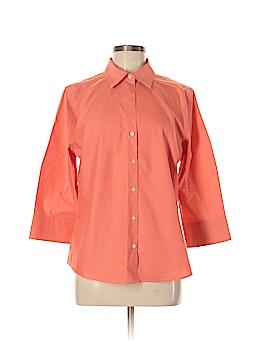Eddie Bauer 3/4 Sleeve Button-Down Shirt Size 6