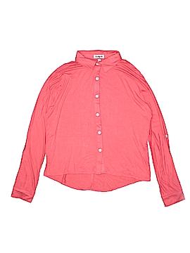 Kidpik Long Sleeve Button-Down Shirt Size 12