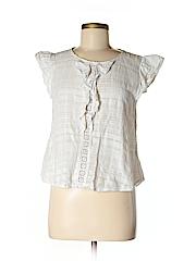 Sweet Wanderer Women Short Sleeve Blouse Size M