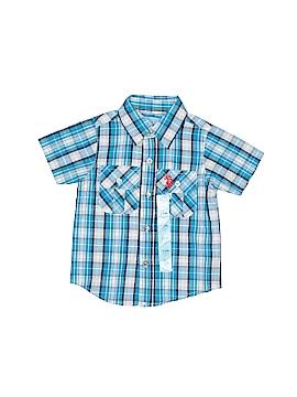 U.S. Polo Assn. Short Sleeve Button-Down Shirt Size 12 mo