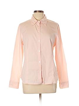 Evan Picone Long Sleeve Button-Down Shirt Size 12