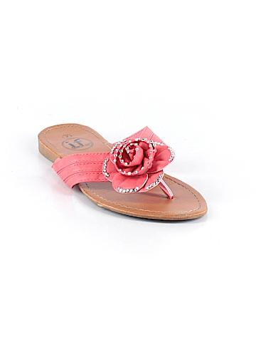 IF Carrini International Fashion Flip Flops Size 7
