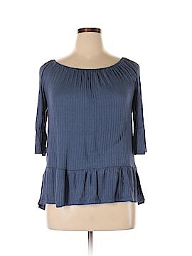 Como Vintage 3/4 Sleeve Top Size XL