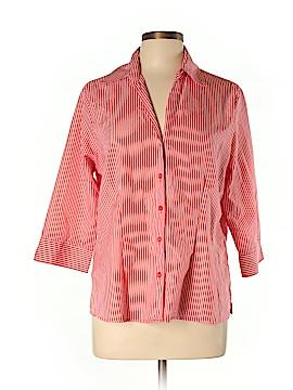 Joanna Long Sleeve Button-Down Shirt Size L