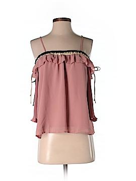 Ecru 3/4 Sleeve Blouse Size S