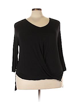 Cha Cha Vente 3/4 Sleeve Top Size 3X (Plus)