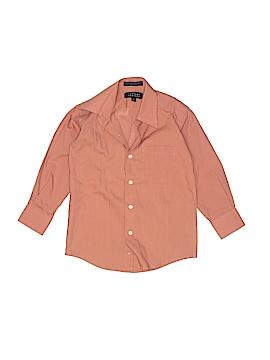 Bergamo New York Long Sleeve Button-Down Shirt Size 4